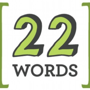 Logo - 22 Words