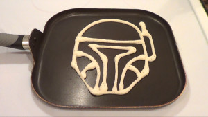 Boba Fett Pancake 1
