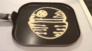 Death Star Pancake 1
