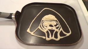 Kylo Ren Pancake 1