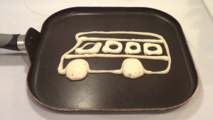 School Bus Pancake 1