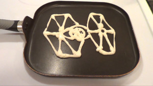 Tie Fighter Pancake 1