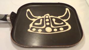 Vikings Horns Helmet Pancake 1