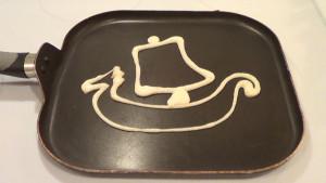 Vikings Ship Pancake 1