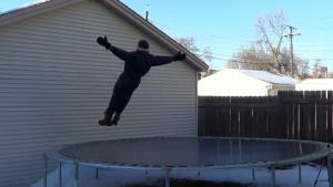 Frozen Trampoline Take 1 - 03