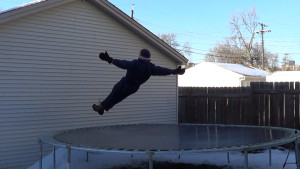 Frozen Trampoline Take 1 - 04