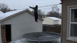 Frozen Trampoline Take 2 - 02