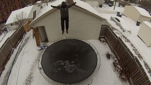 Frozen Trampoline Take 2 - 03