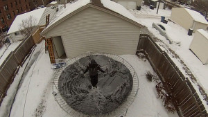 Frozen Trampoline Take 2 - 05