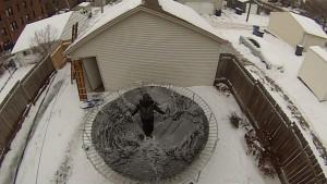 Frozen Trampoline Take 2 - 05