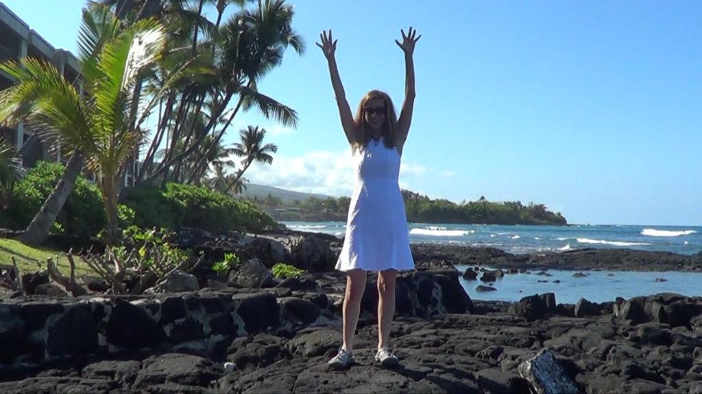 Hawaii Dance 001 - Ocean in Kona