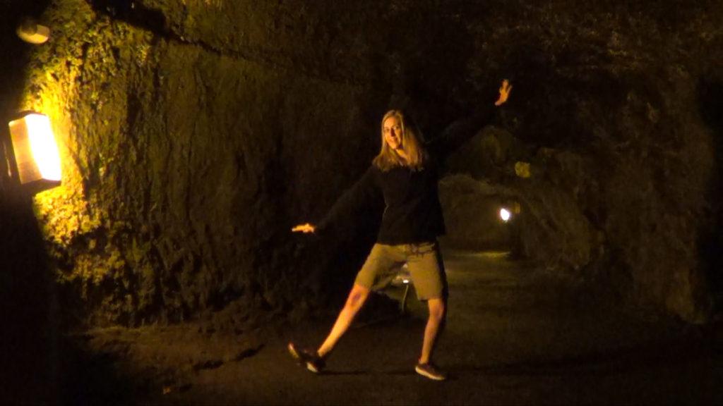 Hawaii Dance 005 - Lava Tubes near Kilauea Crater