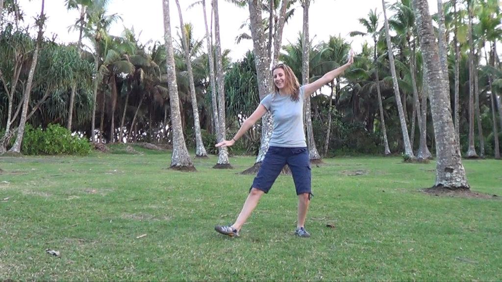 Hawaii Dance 007 - Palm Trees near Ahalanui Warm Spring
