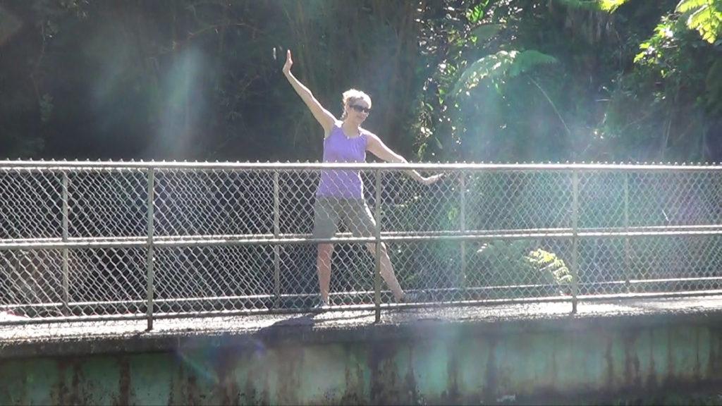 Hawaii Dance 008 - Bridge near 'Akaka Falls
