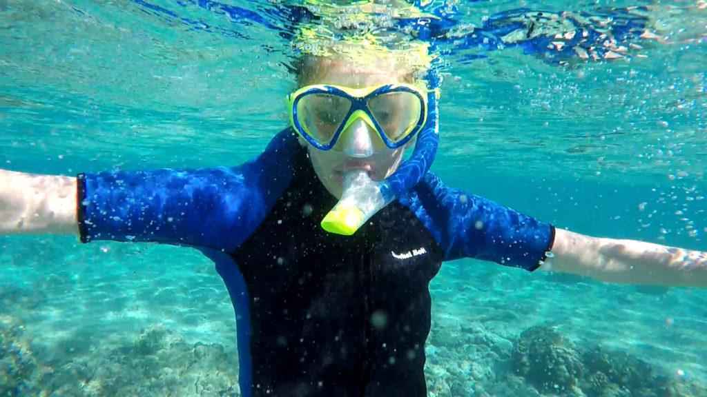Hawaii Dance 010 - Snorkeling at Kahalu'u Beach