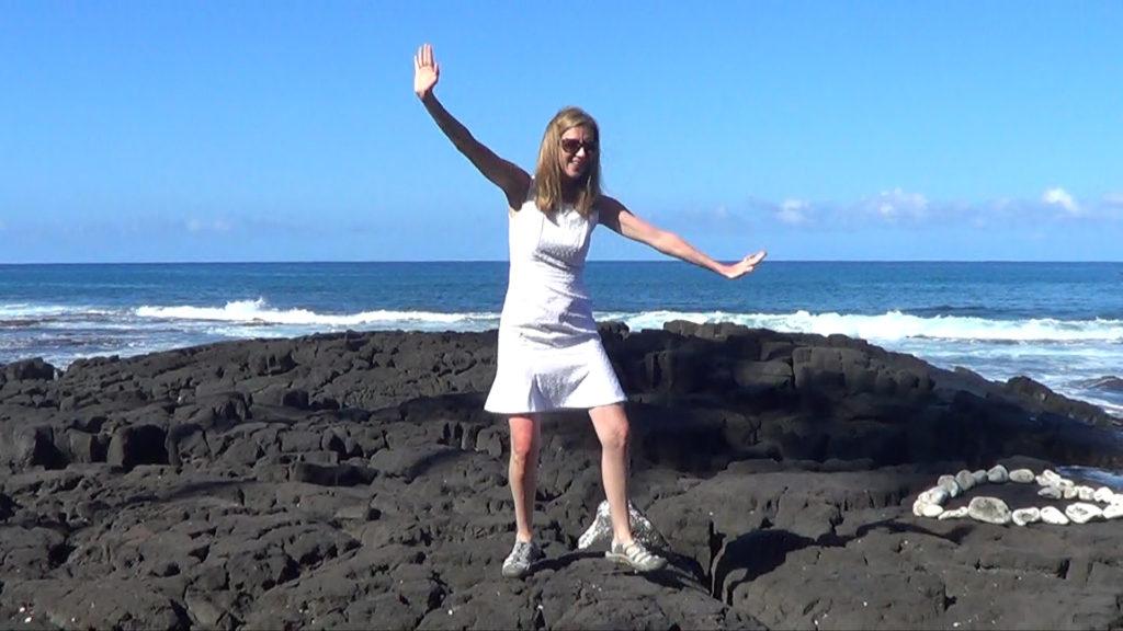 Hawaii Dance 018 - Ocean in Kona