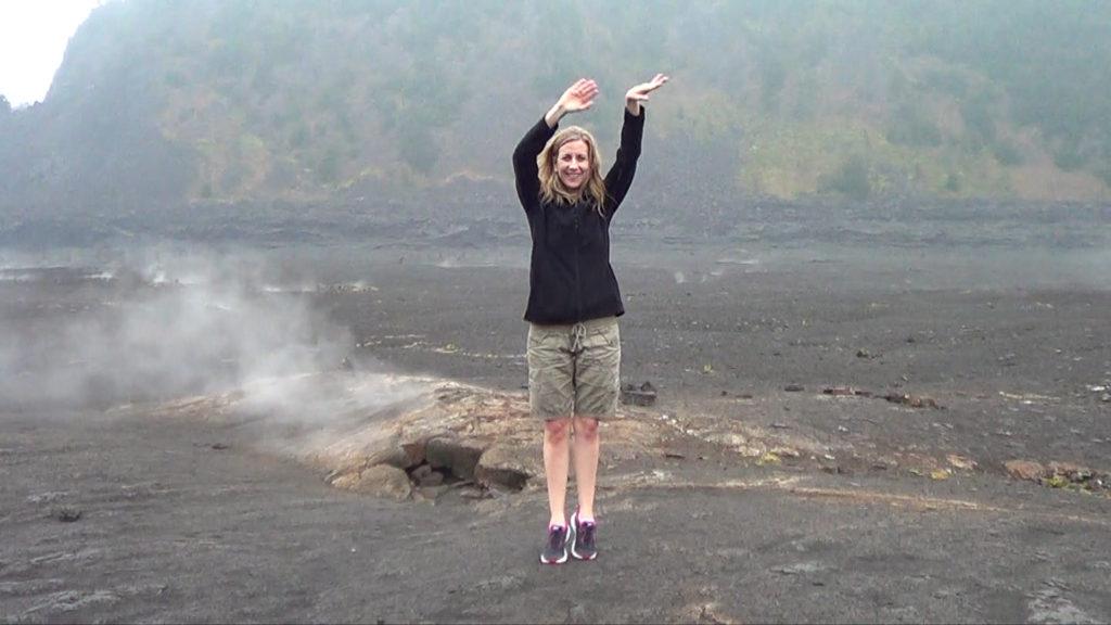 Hawaii Dance 020 - Kilauea Crater