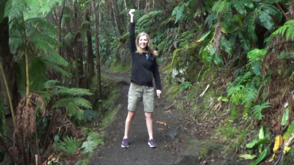 Hawaii Dance 029 - Rainforest near Kilauea Crater