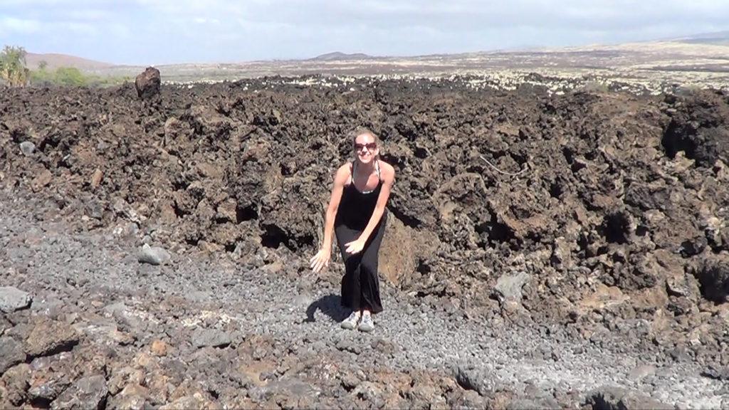 Hawaii Dance 033 - Lava Field near Makalawena