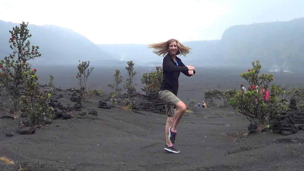 Hawaii Dance 034 - Kilauea Crater