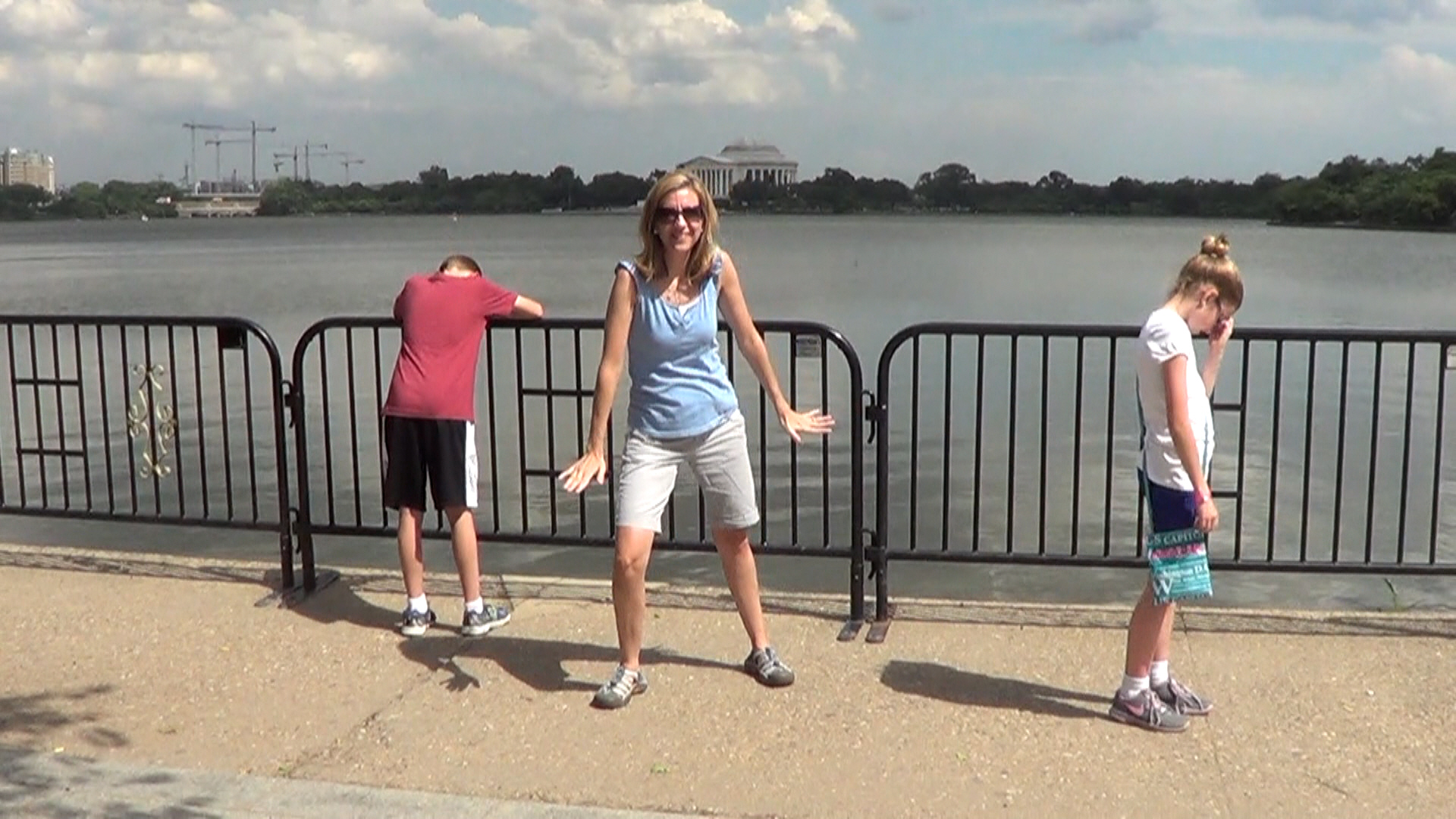 27 - Annoyed Kids at Tidal Basin