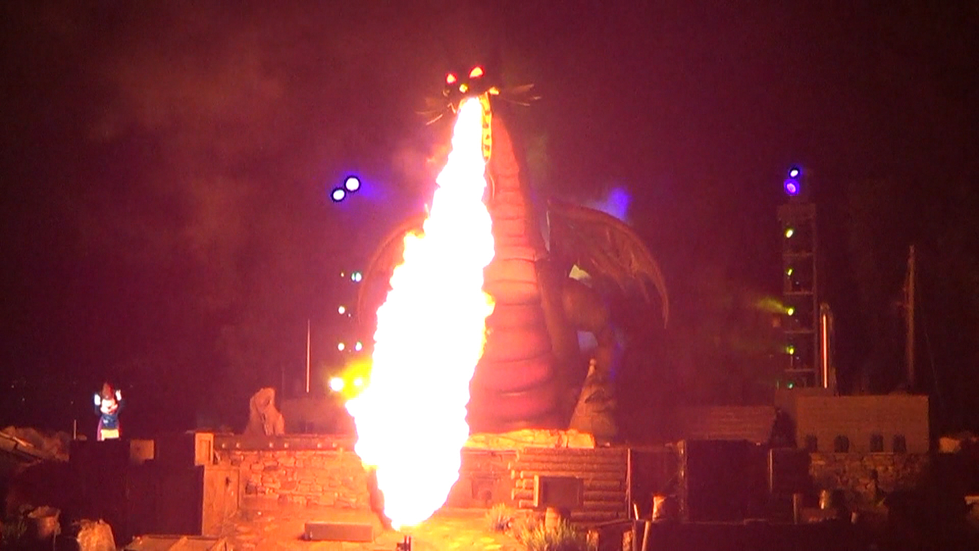 12 Disneyland - Disney really likes to play with fire and always ends their shows with a big bang