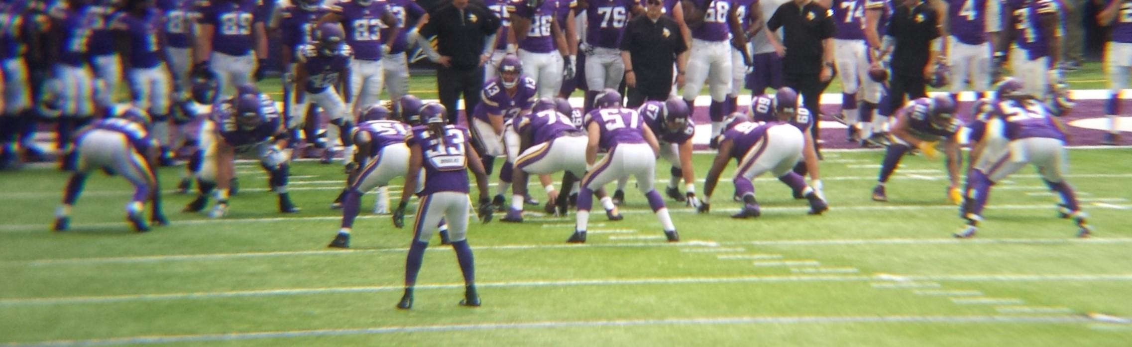 Minnesota Vikings U.S. Bank Stadium First Game - Shaun Hill