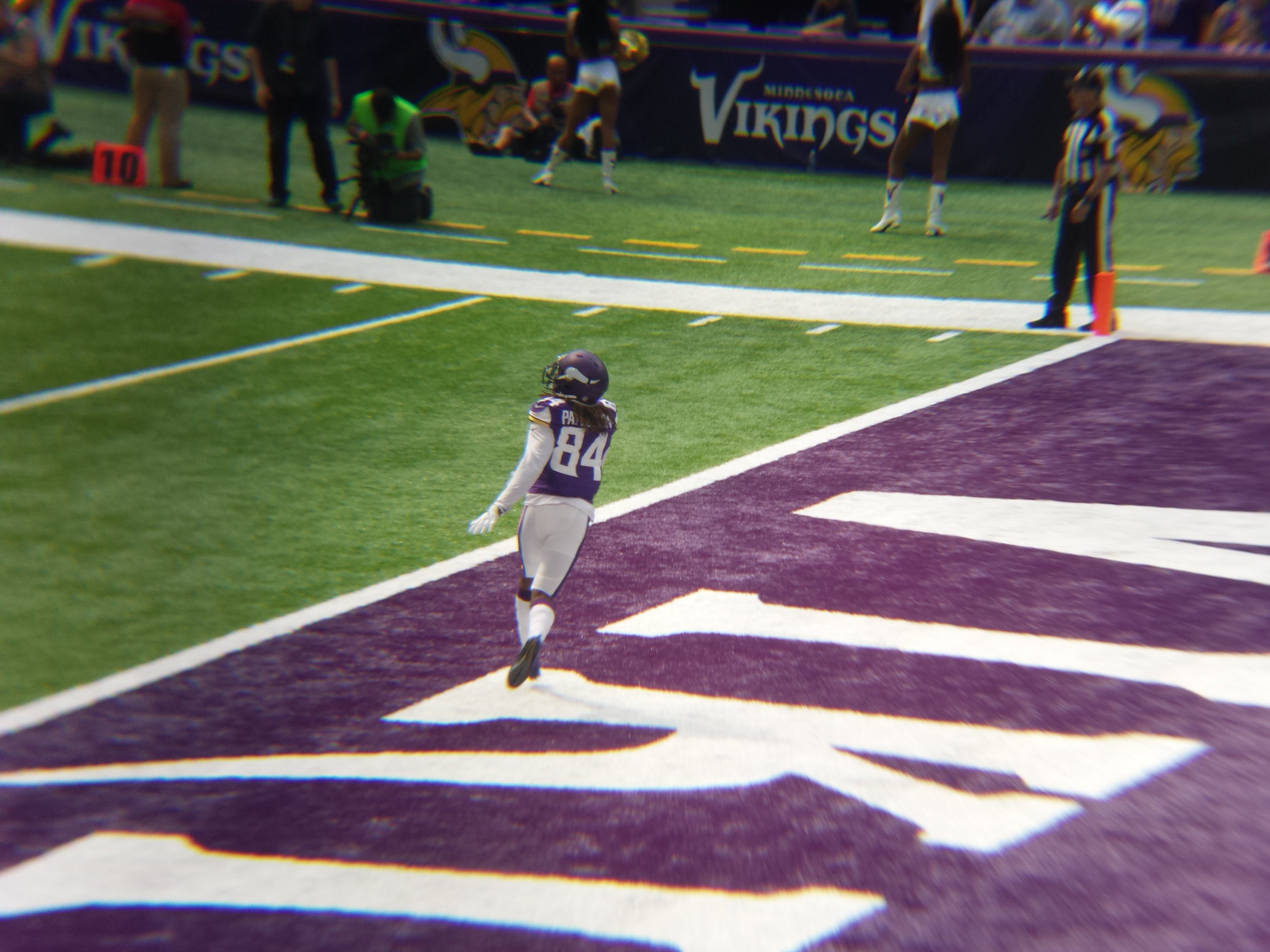 Minnesota Vikings U.S. Bank Stadium First Game - Cordarrelle Patterson