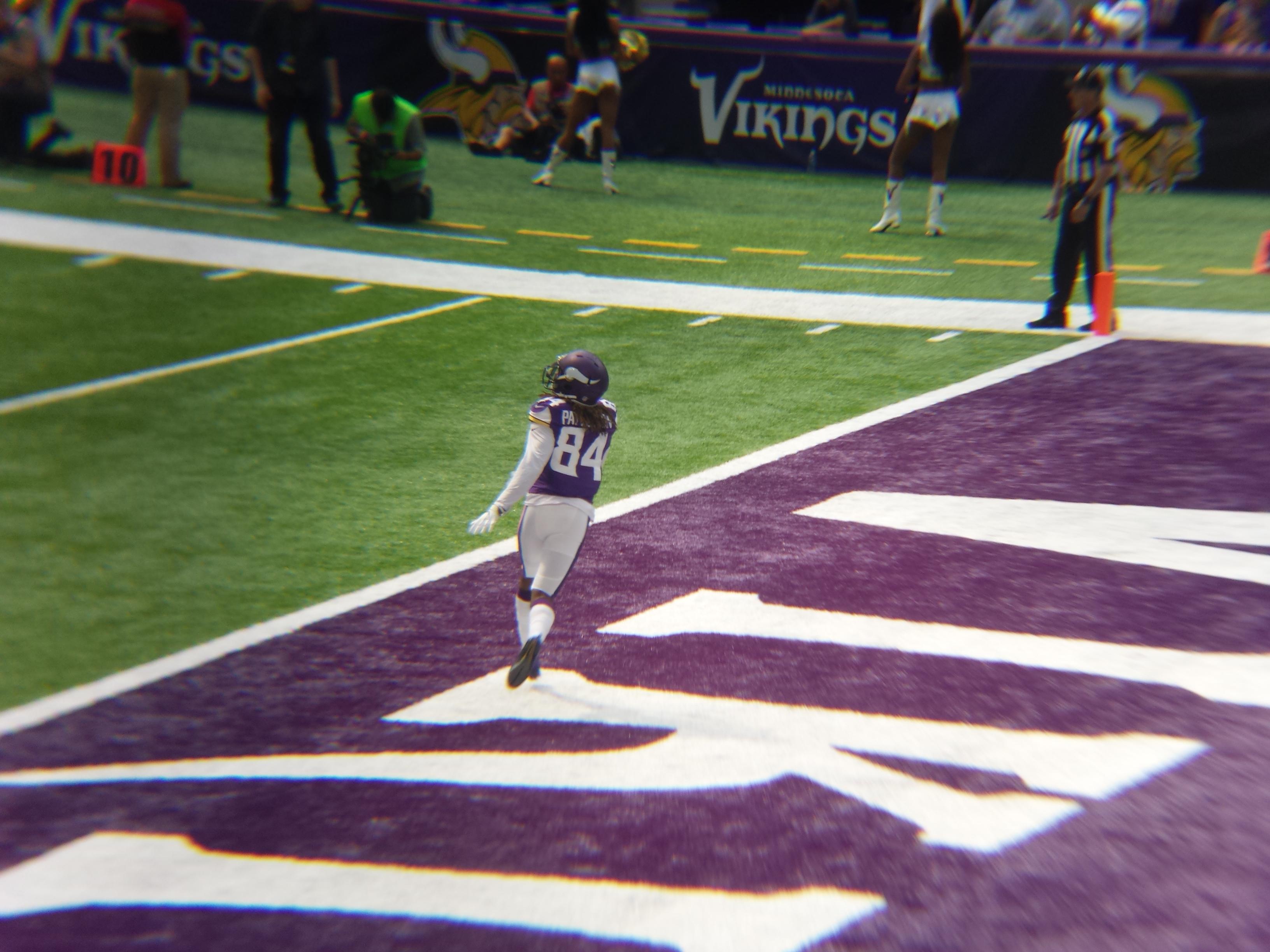 Minnesota Vikings U.S. Bank Stadium First Game - Cordarrelle Patterson