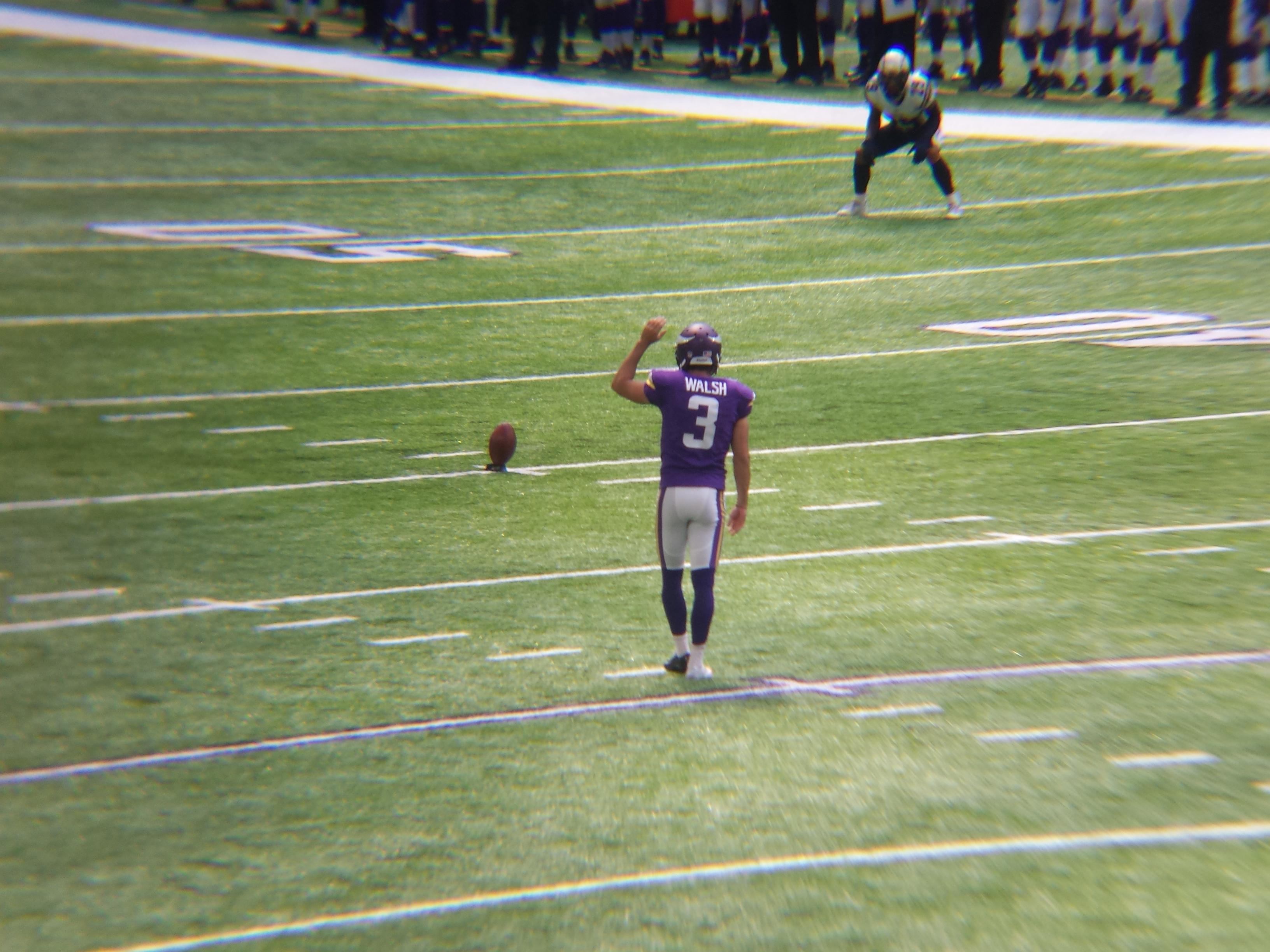 Minnesota Vikings U.S. Bank Stadium First Game - Blair Walsh