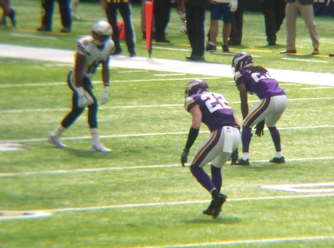 Minnesota Vikings U.S. Bank Stadium First Game - Harrison Smith