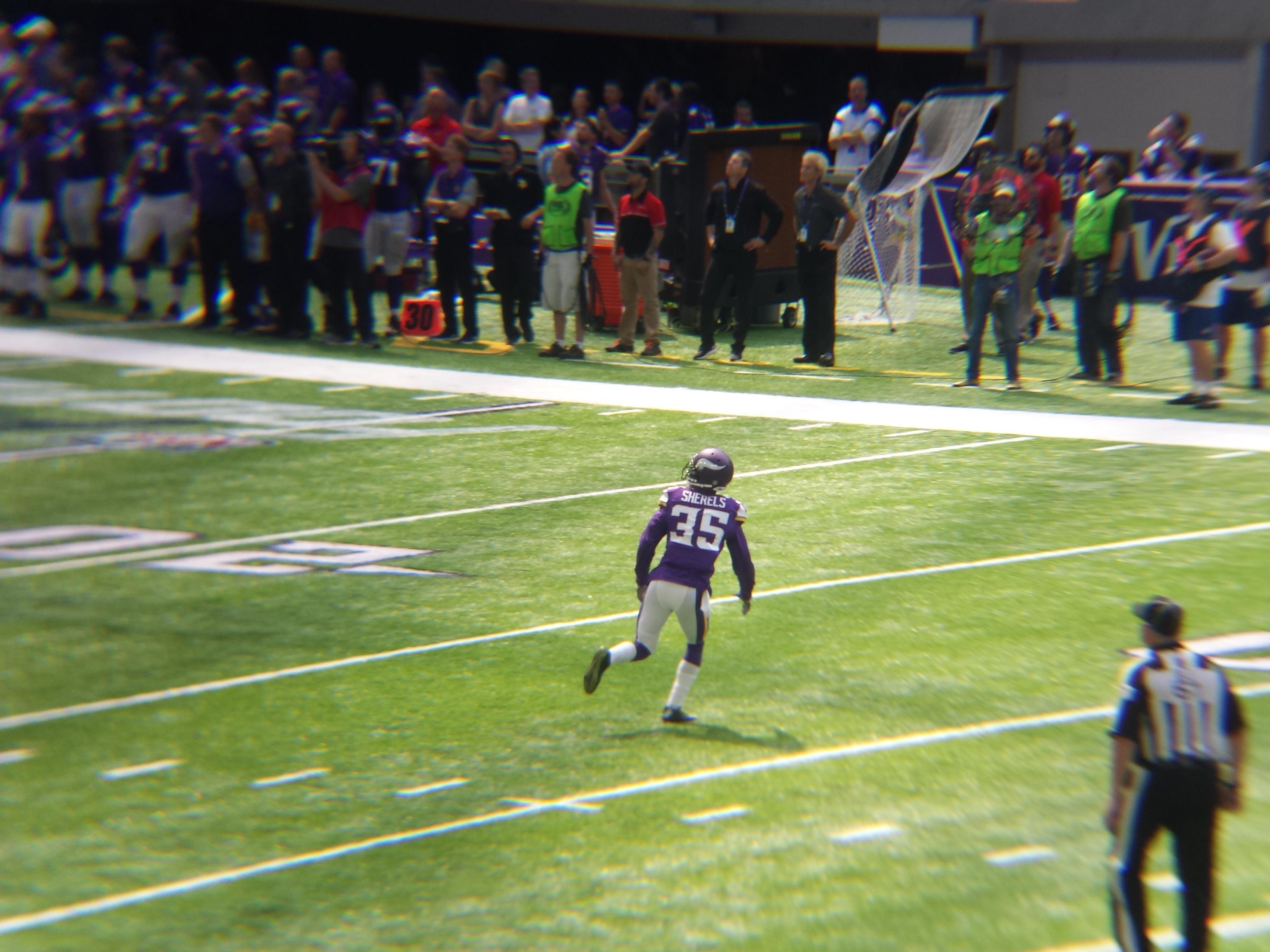 Minnesota Vikings U.S. Bank Stadium First Game - Marcus Sherels