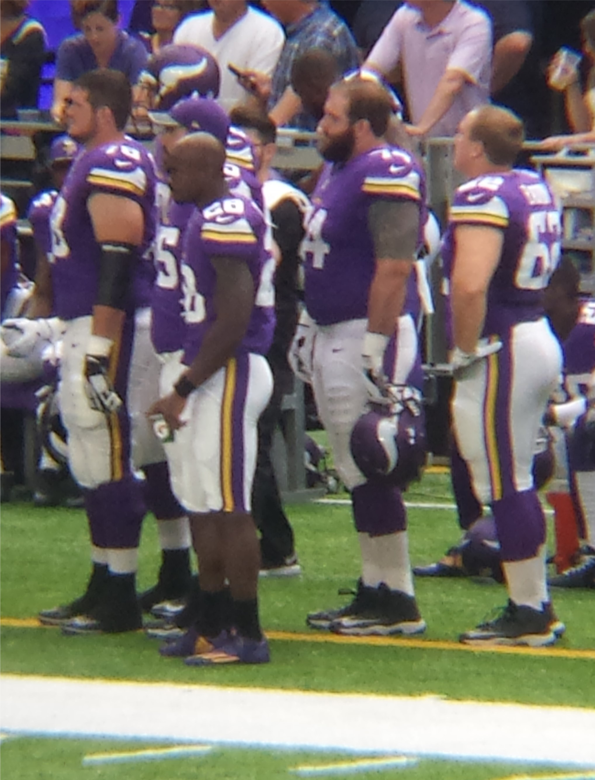 Minnesota Vikings U.S. Bank Stadium First Game - Adrian Peterson